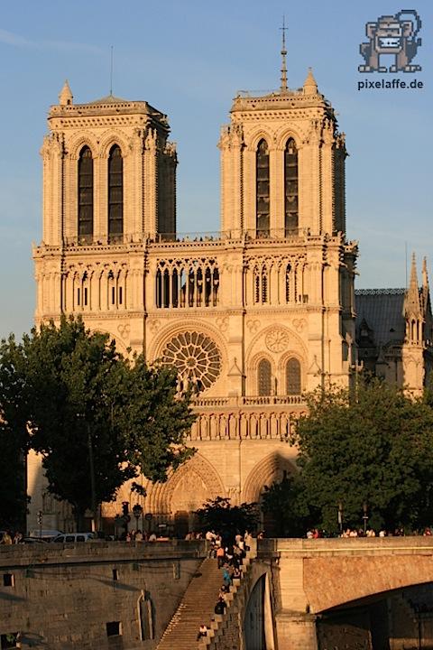 Paris/Frankreich ++ Juli 2010 ++ Notre Dame