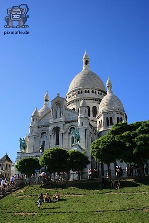 Paris/Frankreich ++ Juli 2010 ++ Sacre Coeur