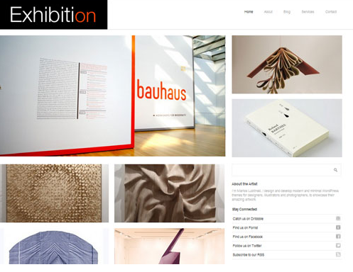Theme Exhibition für WordPress