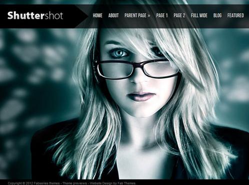 Theme Shuttershot für WordPress