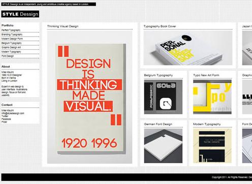 Theme Style Dessign für WordPress