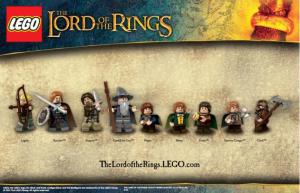 Herr der Ringe Lego Figuren - Set 1