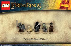 Herr der Ringe Lego Figuren - Set 2
