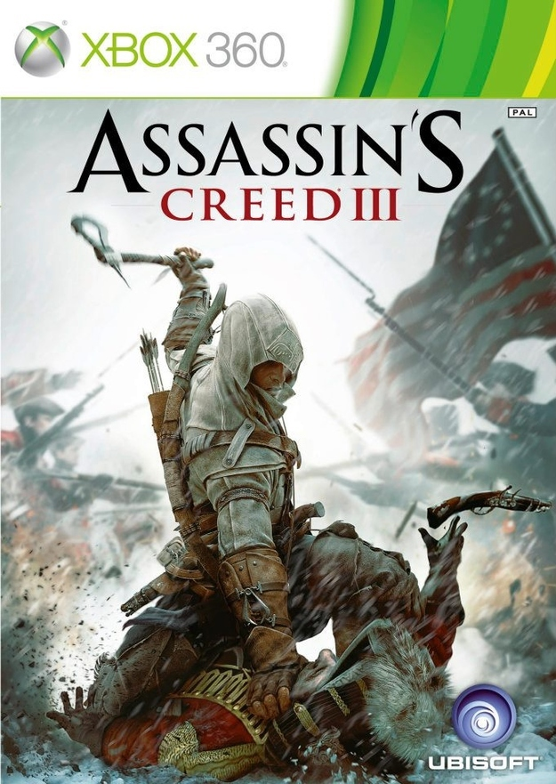 Assassins Creed III - Cover