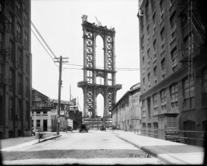 Manhatten Bridge, 1908