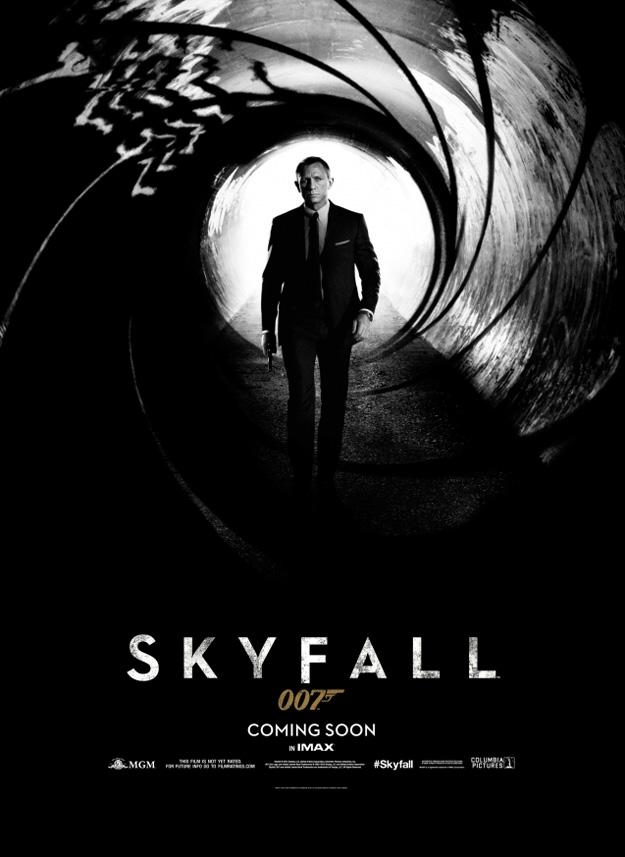 James Bond - Skyfall Teaser Poster
