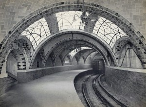City Hall Subway Station ca. 1904