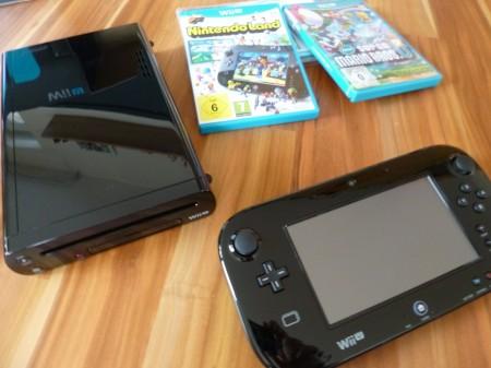 Wii U Gamepad, Konsoleu und Games