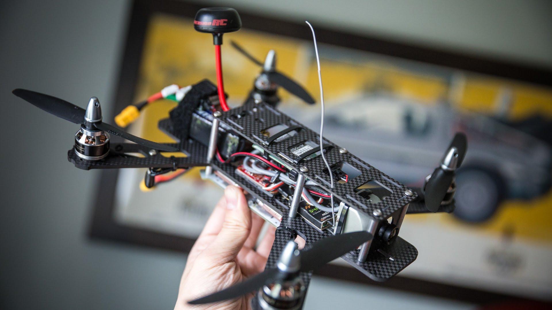 FPV-Race-Drohne