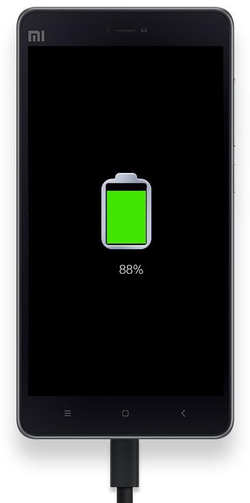 Mi4c - Quickcharging