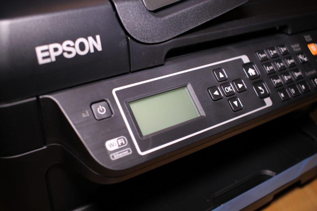 Epson ET-4550 Bedienelemete