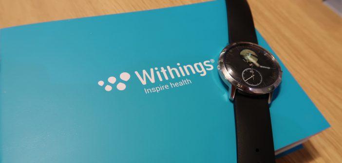 Withings Steel HR: Activité mit Display und HR-Sensor