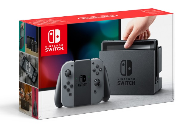 Nintendo Switch - grau