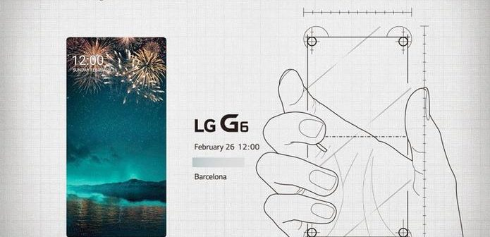 Das LG G6 kommt mit einem 18:9 QHD+ Screen