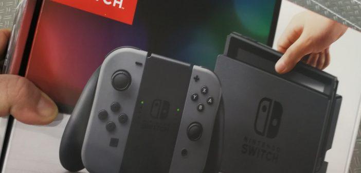 Die Nintendo Switch ist da! – Unboxing