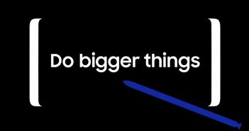 Do bigger things – Samsung teasert den Start des Galaxy Note 8 an